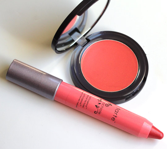 tarte achiote cheek tint and lip luster duo product pictures