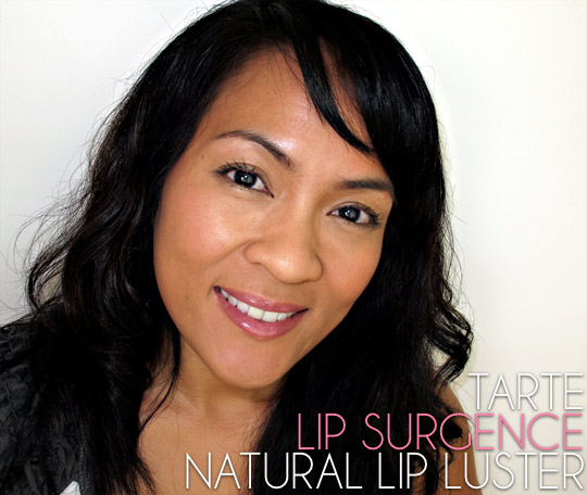 tarte lip surgence natural lip luster adored