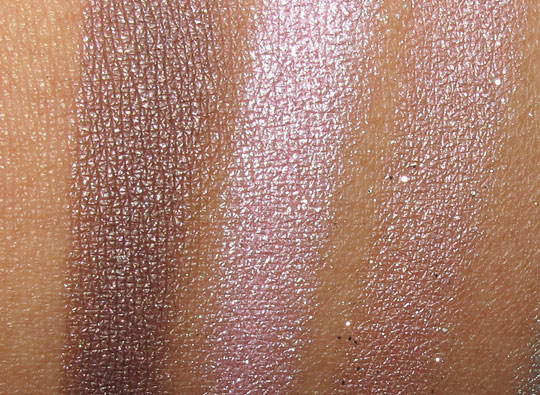 urban decay ud feminine palette swatches