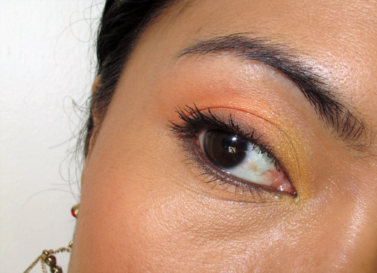 Givenchy Naivement Couture Prisme Eyes in Candide Garden on Karen of Makeup and Beauty Blog