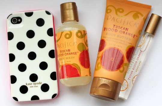 Pacifica Tuscan Blood Orange Take Me There Gift Set