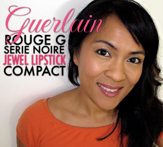 Rouge G de Guerlain Serie Noire Jewel Lipstick Compact