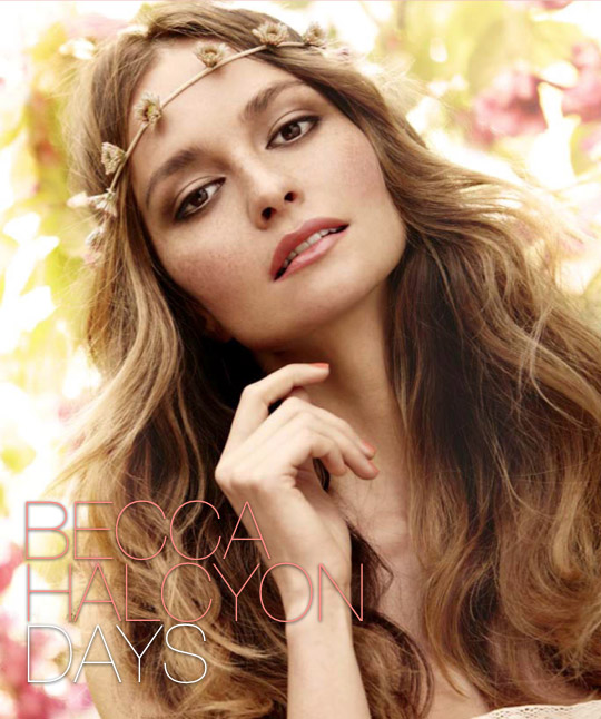 becca halcyon days collection spring 2011 beauty shot