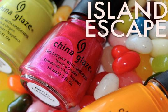 china glaze island escape