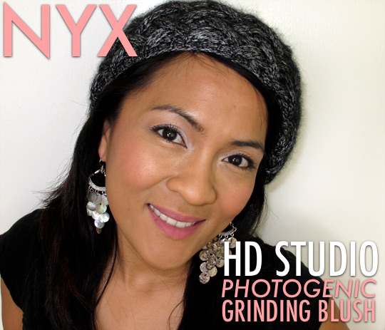 NYX HD Studio Photogenic Grinding Blush