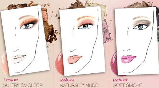 smashbox softbox sultry sweet looks