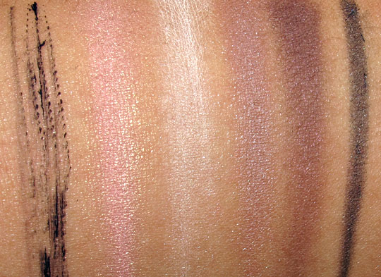smashbox sultry sweet glambox swatches
