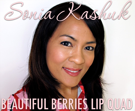 sonia kashuk beautiful berries lip quad