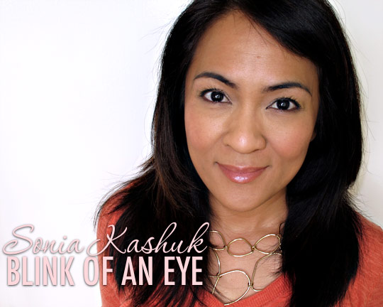 sonia kashuk blink of an eye