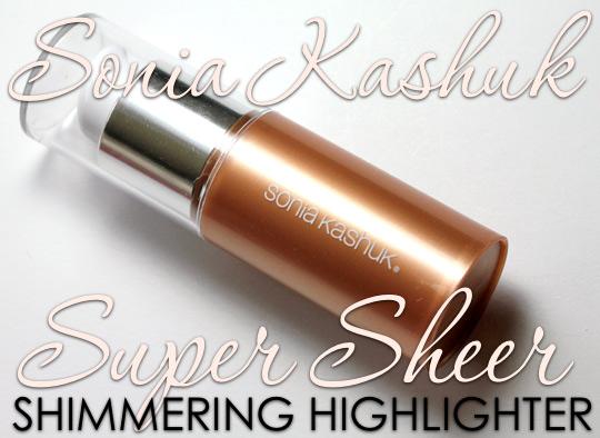 sonia kashuk super shimmering highlighter