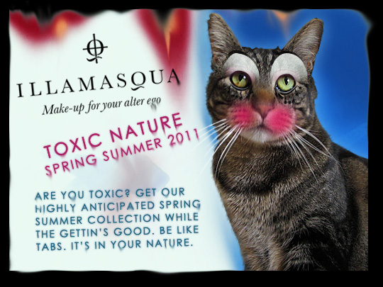 Tabs for Illamasqua Toxic Nature