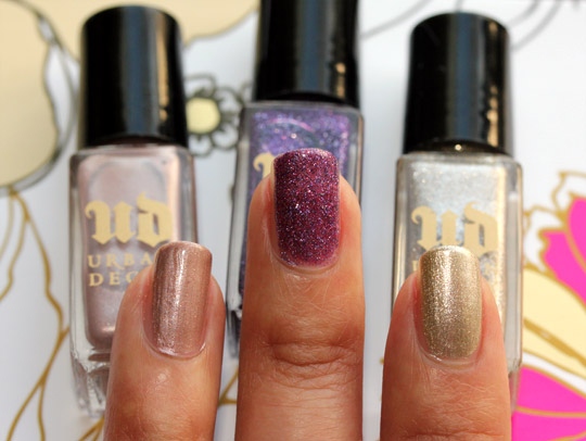 Urban Decay Rollergirl Nail Kit Swatches