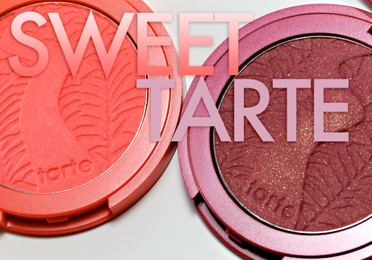 Two ways to win $50 in Tarte blushes