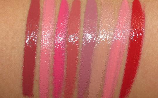 Bare Minerals Pretty Amazing Lipcolor swatches flash