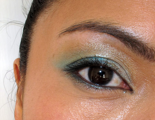 NARS Summer 2011 eye closeup