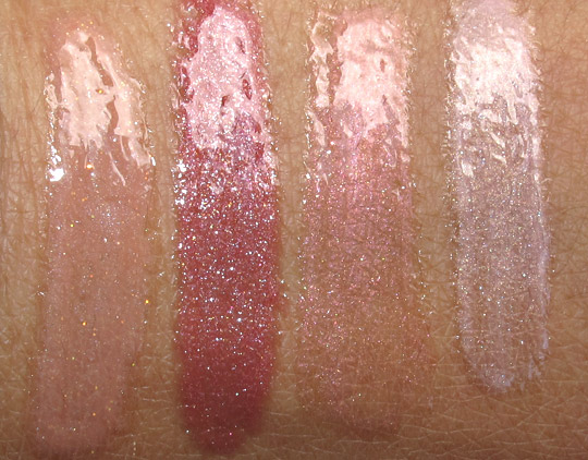 benefit ultra shine spring 2011 swatches