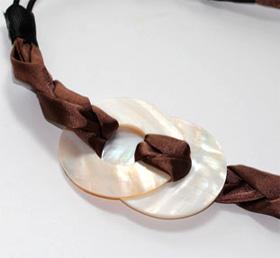 Goody Pearlized Shell Headband