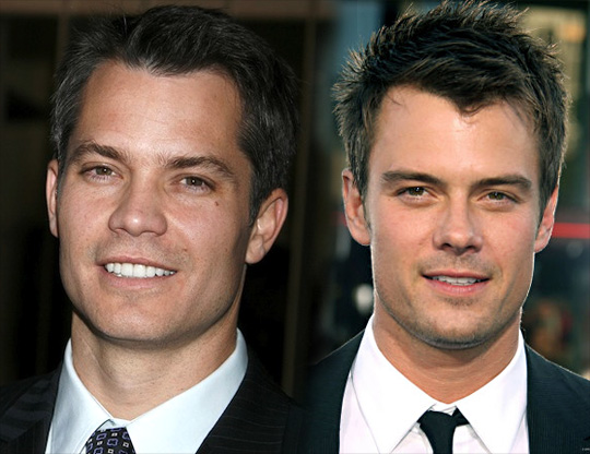 Timothy Olyphant and Josh Duhamel
