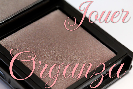 jouer creme eyeshadow in organza