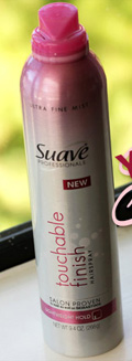 Suave Touchable Finish Hairspray