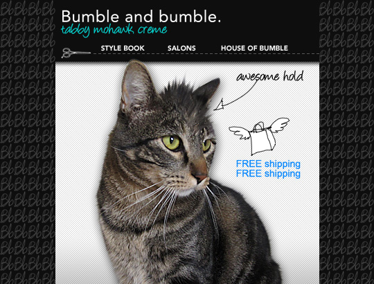 Tabs for Bumble & Bumble Mohawk Creme