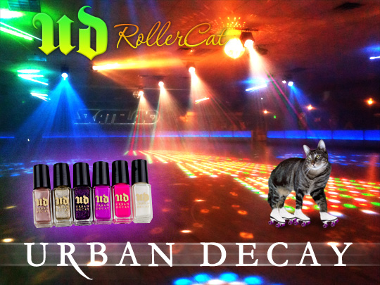 Tabs for Urban Decay Rollercat Nail Polish