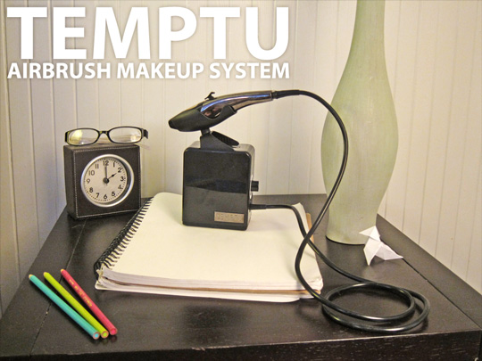 The Temptu AIRbrush Makeup System