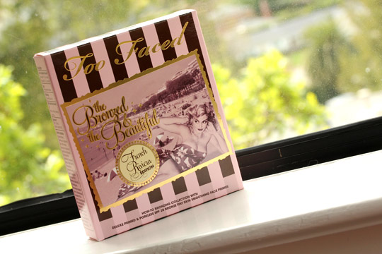 too faced bronzed beautiful french riviera box