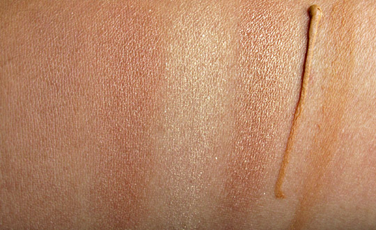 too faced bronzed beautiful french riviera swatches without