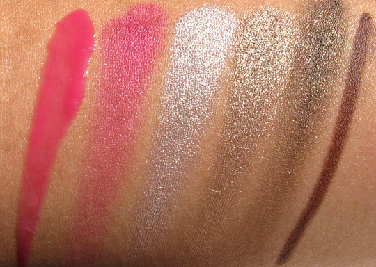 urban decay rollergirl palette swatches without flash