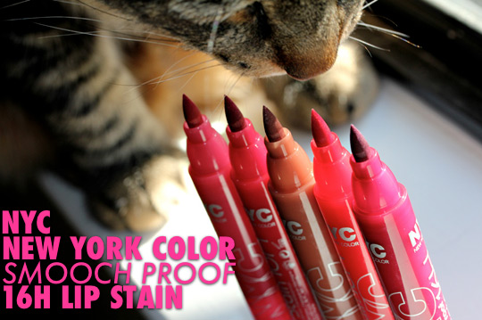 nyc new york color smooch proof lip stain