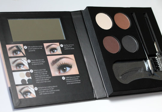 Nyx Eyebrow Kit With Stencil Makeup And Beauty Blog