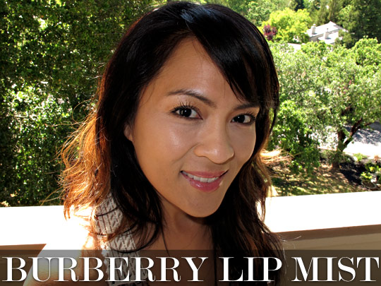 burberry lip mist review