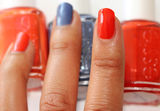 essie summer 2011 Meet me at sunset