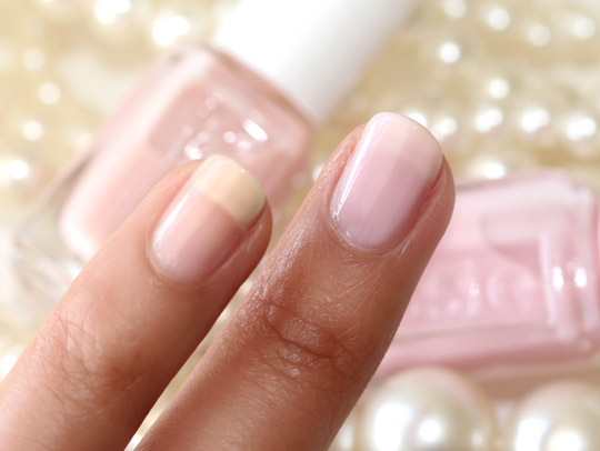 essie wedding collection swatches made of honor better together
