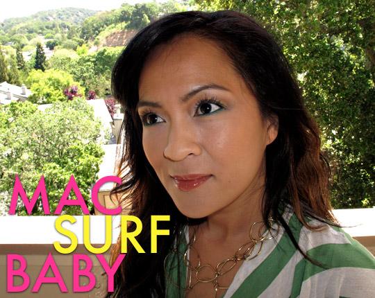 mac surf baby