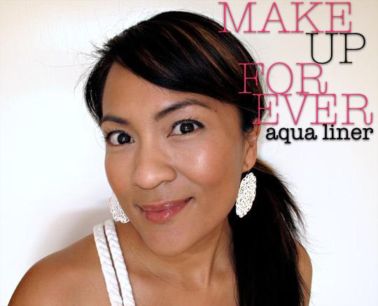 make up for ever aqua liner top
