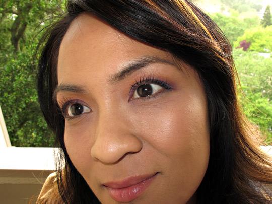 nyc new york color mono eyeshadow review closeup k