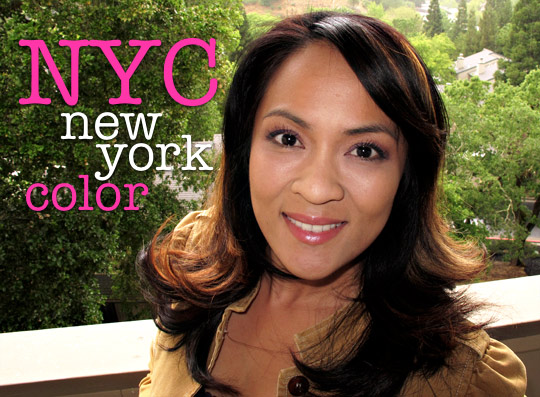 nyc new york color mono eyeshadow review