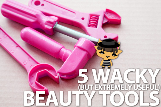 Wacky but useful beauty tools