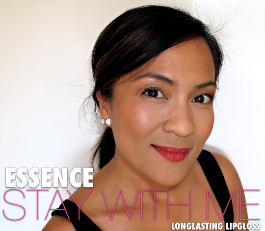 essence stay with me longlasting lipgloss