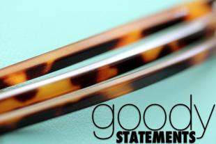Goody Statements Tortoise-Shell Headband