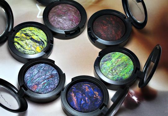 mac semi precious collection msf eyeshadows