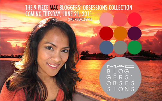 MAC Bloggers' Obsessions Collection and Evolution Revolution Lipglass