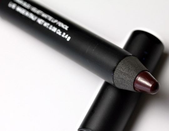 nars fall 2011 train bleu velvet matte lip pencil