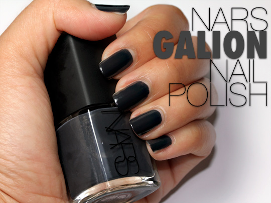 nars galion nail polish swatch