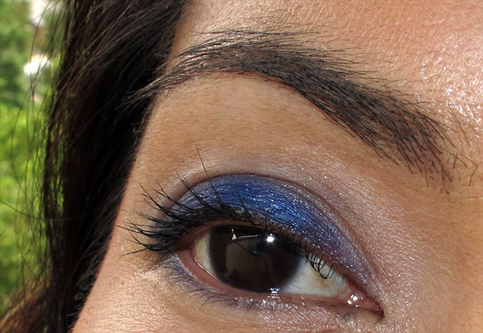 nars outremer single eyeshadow