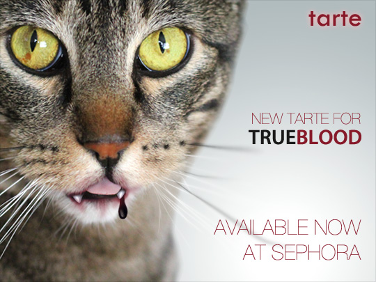Tabs for the Tarte True Blood Collection at Sephora