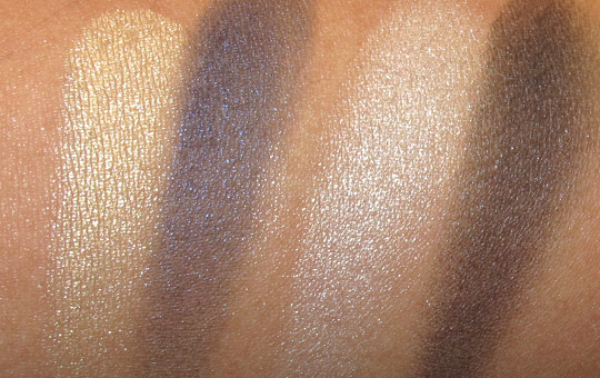 Givenchy Les Ombres de Lune swatches