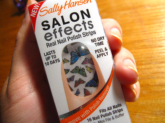 Making Nail Art Easy With Sally Hansen Salon Effects Real Nail